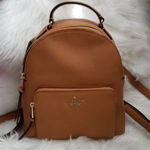 NWT Kate Spade Tan Jackson Street Keleigh Backpack